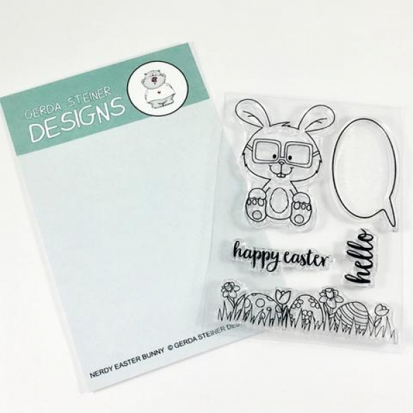 gsd578-gerda-steiner-clear-stamps-nerdy-easter-bunny
