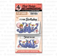 5104-octopus-flip-card-art-impressions-clear-stamps