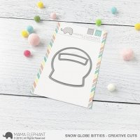 Snow Globe Bitties - Creative Cuts - Mama Elephant