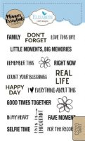 Family - Clear Stamps - Planner Essentials