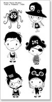 H104trickortreaters-picket-fence-studios-clear-stamps