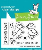 Stud Puffin - Stempel