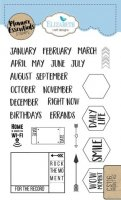 Months - Clear Stamps - Planner Essentials