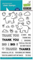 Big Thanks - Stempel - Hero Arts - Lawn Fawn