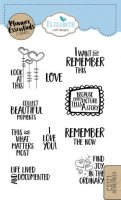Remember - Clear Stamps - Planner Essentials