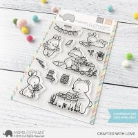 Crafted with Love - Clear Stamps - Mama Elephant