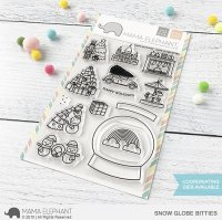 Snow Globe Bitties - Clear Stamps - Mama Elephant